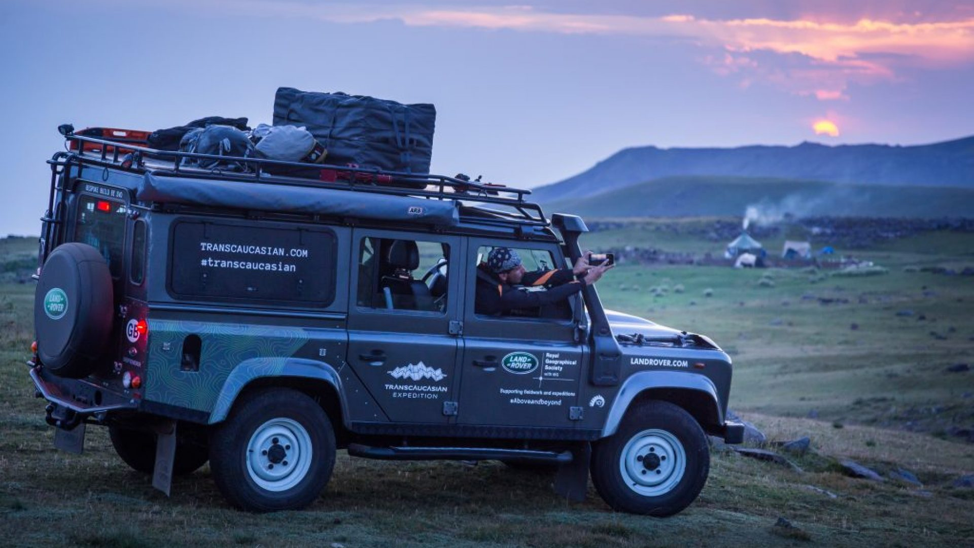 Land Rover, TransCaucasian Expedition, Armenia